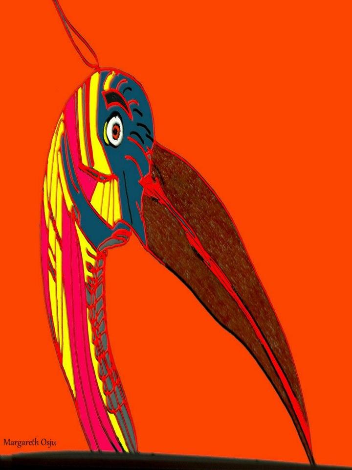 The weird bird from the orange city